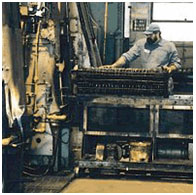carbonitriding heat treatment furnance